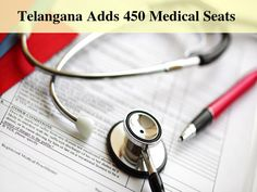 #Telangana Medical Colleges Offer More Seats From The Upcoming Session According to reports almost all medical colleges of Telangana State are will be offering 450 more seats for admissions from this academic session...  #Medical_College   Read more from #Careerbilla <> http://www.careerbilla.com/news/news-details/telangana-medical-colleges-offer-more-seats-from-the-upcoming-session