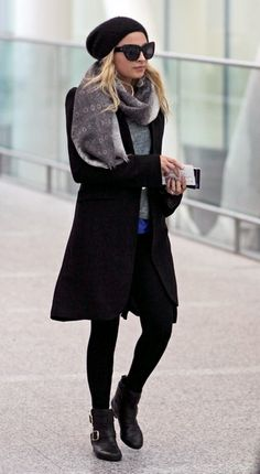 Nicole Richie #fashionwinter