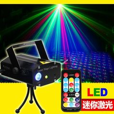 34.20$  Watch here - http://ai3oa.worlditems.win/all/product.php?id=32767092411 - The new LED mini laser remote control lamp lamp design customized KTV voice dance bar light red green blue