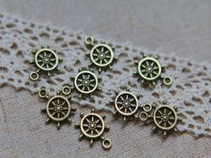 20 Piece INFINITY Connector Charms  24x9mm by 20CentsSupplies, $0.20