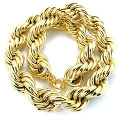 Fat Old School 80s Hip Hop dookie rope necklace!