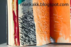 more workshops, art journaling