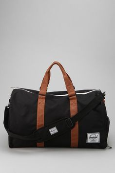 Herschel Supply Co. Novel Weekender Bag #UrbanOutfitters  Take a look at the trendy duffel bags