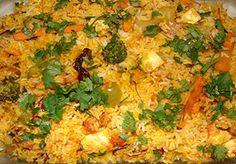 व्हेजिटेबल बिर्याणी | Vegetable Biryani