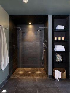 Spa Bathroom Design, Bathroom Spa, Bathroom Ideas, Bath Design, Bathroom Organization, Bathroom Renovations, Bathroom Storage, Bathroom Mirrors, Bathroom Cabinets