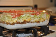 Taco Salad... looks like a good recipe for a ladies get together!