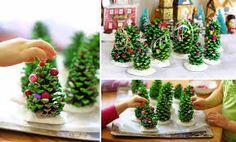 Risultati immagini per decorazioni natalizie fai da te riciclo
