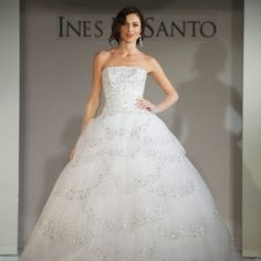 Gorgeous dresses by Ines Di Santo.