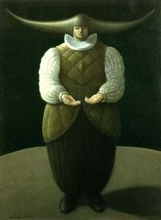 'The Catcher 2' oils on canvas painted by George Underwood