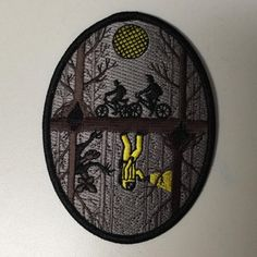 A patch that you can flip depending on which side you associate with more. Are you one of the boys searching the woods for Will? Or are you investigating the upside down? Patch by Laserbrain Patch Co.