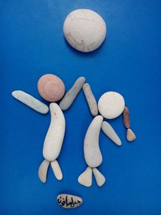 Children at Play (pebble stone)