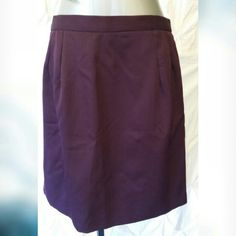 Short purple skirt Short purple skirt Like new. Excellent condition  Runs small see measurements  Measurements laying flat Waist 16in Length 20.5in  Material content 100% polyester unknown Skirts