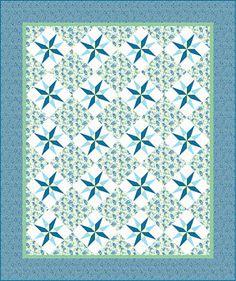 Free Quilt Pattern: Summer Cottage