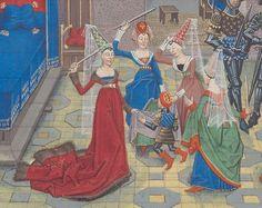 Regnault de Montauban, rédaction en prose. Regnault de Montauban, tome 3 Date d'édition : 1451-1500 Ms-5074 réserve Folio 282v