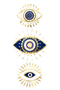 evil eye times 3 navy on white Throw Pillow by The Best Print Shop - Cover x with pillow insert - Indoor Pillow White Framed Art, Evil Eye Art, Art Prints, Framed Art, Spiritual Art, Eye Tattoo, Eye Illustration, Art, Framed Art Prints