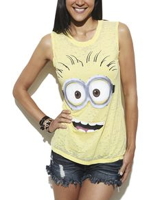 Despicable Me Muscle Tank from Wet Seal