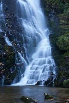 Beautiful Pictures - #EastatoeFalls, #Rosman, #NC.