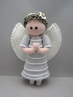 Buy Guardian Angel amigurumi pattern - AmigurumiPatterns.net