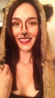 Squirrel Halloween makeup #squirrel #makeup #Halloween