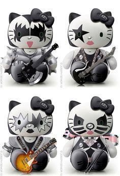 Hello Kitty: KISS.