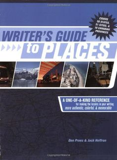 Writer's Guide to Places by Don Prues…