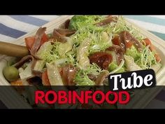 ROBINFOOD / Ensalada mixta bien hecha + Salsa pesto - David de Jorge