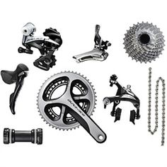 The new 2013 Shimano Dura Ace 9000 Road Groupset in stock and ready to ship! Free Shipping Reward Points. https://www.TriVeloSports... Visit us @ https://www.wocycling.com/ for the best online cycling store.