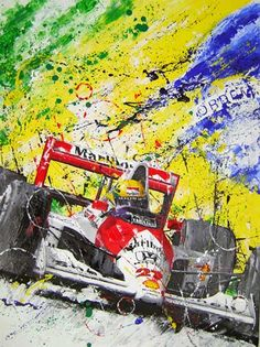 These incredible paintings are the work of artist andhelmet painter,Art Rotondo. His motorsport pieces feature many World Champion drivers such as Senna, Alonso,Hamiltonand Vettel.I'm sure you'll agree the work is stunning. Click below for a look at his work and a link to the website to see more. via Art Rotondo
