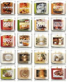 Bath and body works candles!!:)