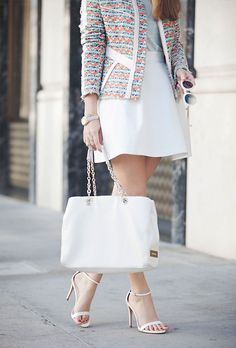 layers of white