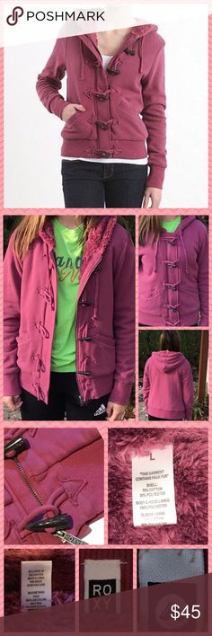 ROXY🌸Fleece Full Zip and Toggle Hoodie Roxy Cozy Fleece Fullzip And Toggle  Hoodie-Like New-Worn once-This is  Such a Super Soft Jacket with a Plush  Lining-🌸 I also have an Aqua/Teal  Hoodie in my Closet (Just Like This One)  ✅Please see pics for more info and       approx: measurements... ✅Please ask all questions prior to purchasing❓  ⭐️Thank you-Deb @bootz1342  ✅OFFERS and Bundling are encouraged😉 🌟Have fun Poshing🌟 Roxy Jackets & Coats