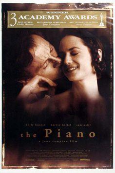 THE PIANO - Sensual drama with Harvey Keitel & Holly Hunter