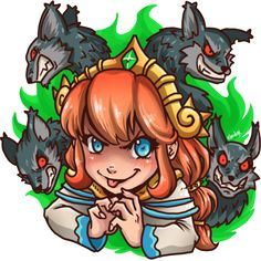 Here my top 10 Scylla fan arts from Smite (Hi-Rez MOBA) authors' galeries below illustration, enjoy ! By Emily Barnes By Iniishi Suochi By Luisa Lopes By HedgieArt By Nezhiel By GreenMaggot By Axel Portillo By Johanna Girard  By PinkToilet By Karulox I hope you like it ^^ And you what's your favorite Scylla