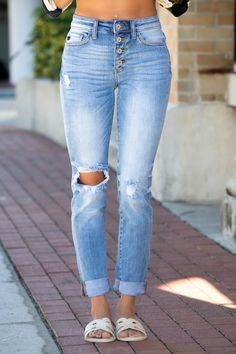 KANCAN Solid Skinny Fit Jeans My Boutique 4d9749b190c7