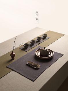 飲致 茶席棉麻布藝麻布茶墊茶簾 日式禪意複古功夫茶具配件小茶席-淘寶台灣,萬能的淘寶