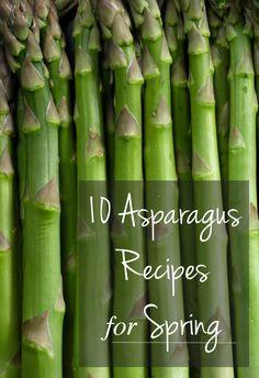 10 Asparagus Recipes for Spring