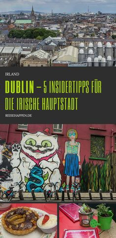 5 insider tips for the Irish capital - extraordinary sights . Places To Travel, Places To See, Reisen In Europa, Places Of Interest, Travel Bugs, Travel Guides, Adventure Travel, Travel Photos, Travel Inspiration
