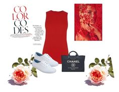 """Untitled #211"" by nikkirozaye ❤ liked on Polyvore featuring Warehouse, Keds, Chanel and Arco"