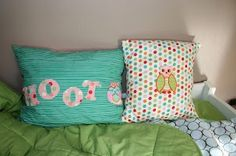 Pillow cases, again from Etsy
