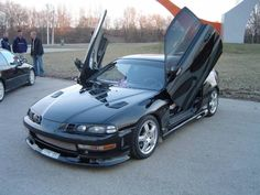 Honda Prelude Vtec Custom. Don't know why but the prelude is my fav car. Wish they still made these.