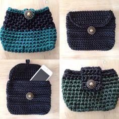 Handbag fettuccia by Paola Cognigni