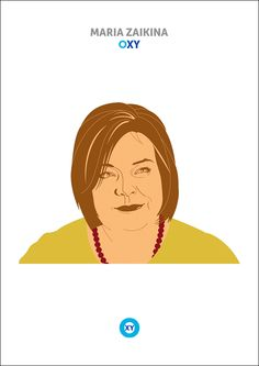 MARIA ZAIKINA / Corporate Portrait / @ : oxy-illustrations@orange.fr