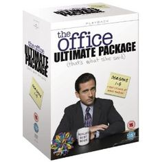 The Office Season 1-5 Ultimate Package [DVD]: Amazon.co.uk - WANT THIS SO MUCH