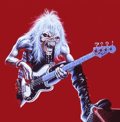 Animated gif discovered by Lew. Find images and videos about gif, lol and rock on We Heart It - the app to get lost in what you love. Heavy Metal Rock, Heavy Metal Music, Heavy Metal Bands, Satan, Eddie The Head, We Heart It, Iron Maiden Band, Rock Poster, Metal Artwork