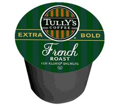Tully's French Roast Coffee Blend K-Cups - 12/cnt