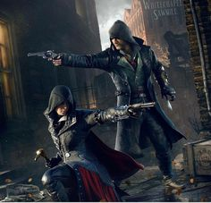 Hermanos Fyre / Assassin's Creed Syndicate #AssassinsCreedSyndicate #PC #PlayStation4 #XboxOne #AssassinsCreed #JacobFyre #Asesinos #Assassins #Assassin #Hermandad #NosUnimos #EvieFyre