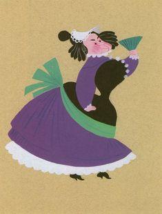 Mary Blair, concept art for Cinderella
