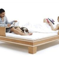 Versatile Bed for Lovers by Chris & Ruby