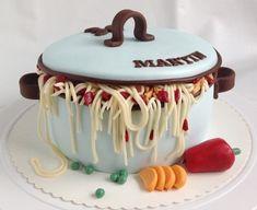 Chef Cake, Crazy Cakes, Themed Cakes, Fondant, Cake Decorating, Birthdays, Birthday Cake, Candy, Yoko