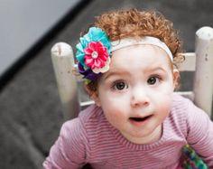Cinco flor racimo venda rosa bebé por NoPlainTs en Etsy